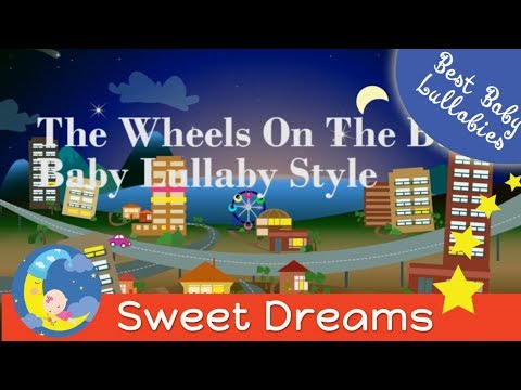 The Wheels On The Bus Song  Lyrics The Wheels on the Bus Nursery Rhyme Lullaby Nurserybyes