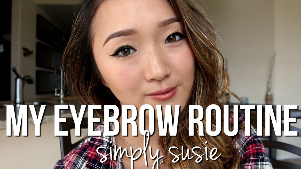 Eyebrow Tutorial Natural Eyebrow Using Anastasia Dipbrow Pomade
