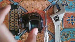 Cara membuka dan membersihkan reel bait casting