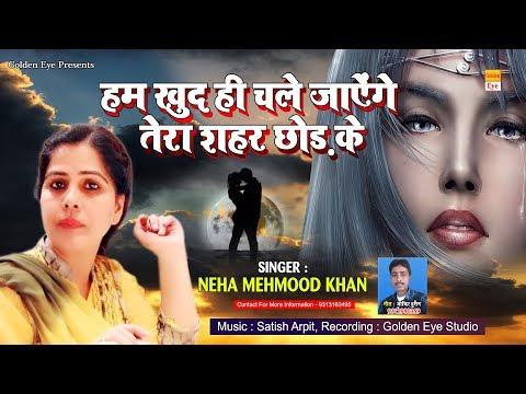 बेवफाई की सबसे दर्द भरी गजल - हम खुद ही चले जायेंगे तेरा शहर छोड़कर - Neha Mehmood Khan