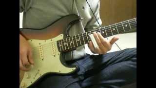 奇跡の最後のギターソロ部分を弾いてみました。 うーん・・・。まだまだ...