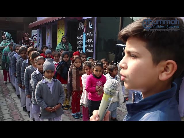 Your child will copy your actions and words / Hammad Safi