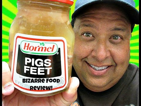Joey's Bizarre Food Reviews-Hormel® Pigs Feet!