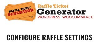 online raffle ticket generator