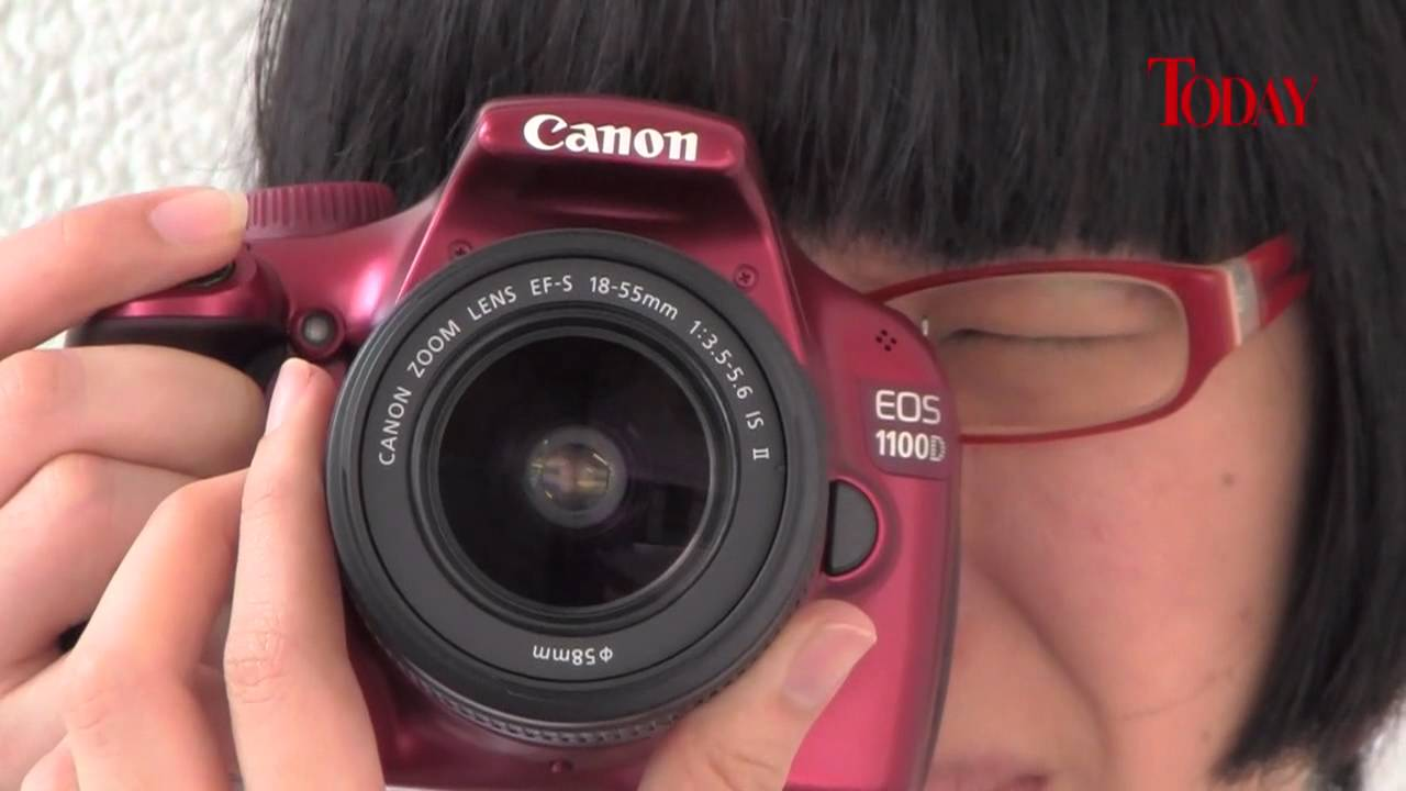 Canon EOS 1100D Review - YouTube