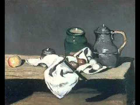Paul Cezanne Art and his famous impressionist paintings.