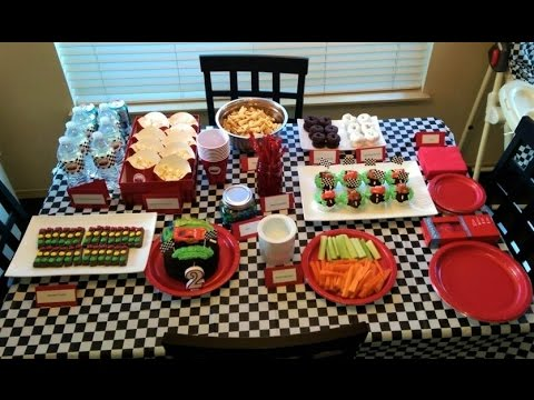 Cars Themed Birthday Party Decorations