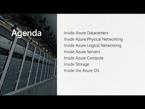 Inside Microsoft Azure datacenter hardware and software architecture with Mark Russinovich