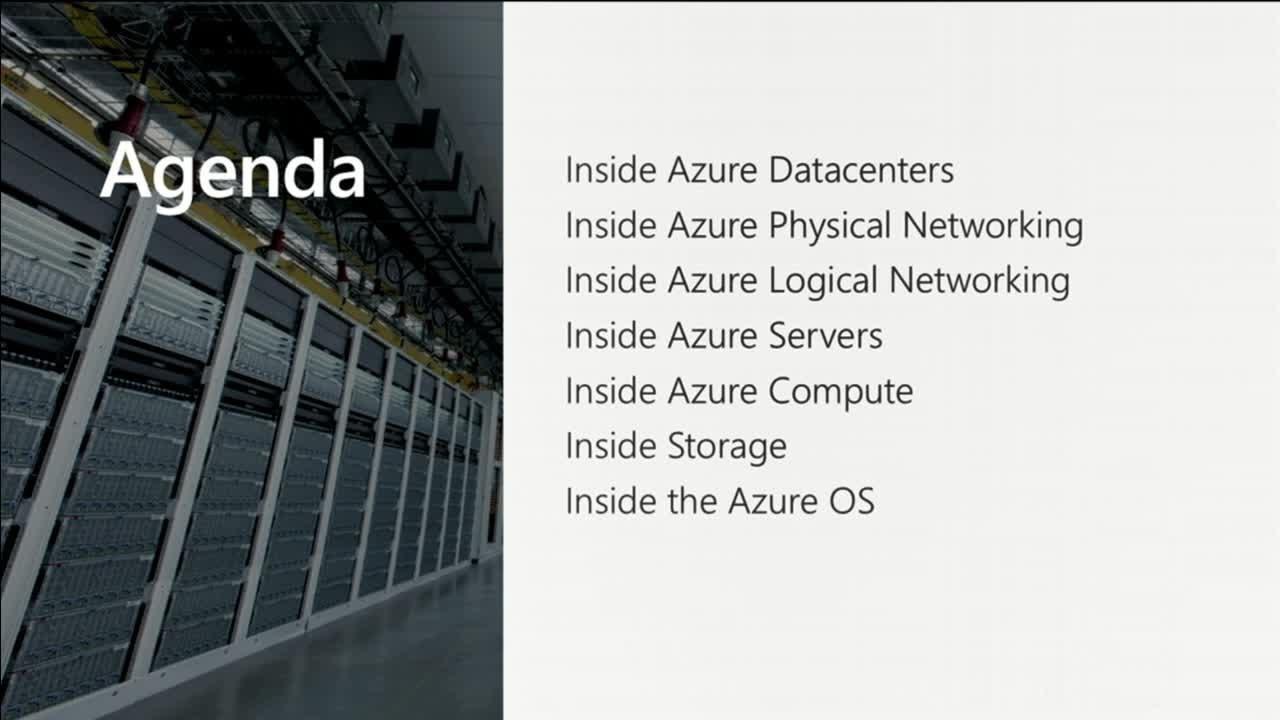 Mark Russinovich Explores Azure Data Center Hardware and