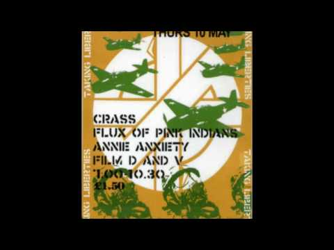 Crass - Camden Glasshouse - 10th May 1984