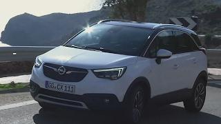 2017 Opel Crossland X Test drive