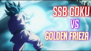 Super Saiyan Blue Goku vs Golden Frieza [Dubstep Remix] (HD)