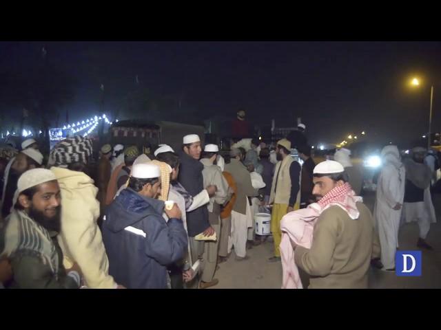 Lungar food in Azadi march Islamabad