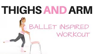 WORKOUT AT HOME WITH THIS THIGH AND ARM TONING EXERCISE VIDEO -TONES THIGHS, SCULPTS BOOTY AND ARMS