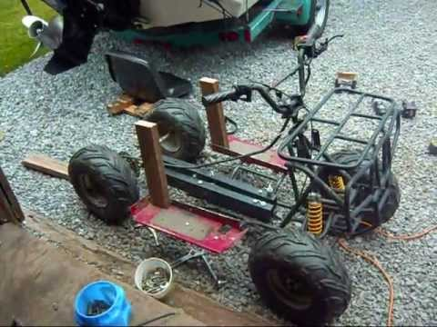 how to build a off road go kart from scratch