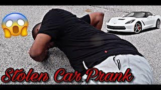 """ST0LEN CAR PRANK"" ON HUSBAND 
