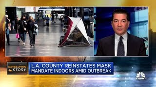 Dr. Scott Gottlieb: L.A. County reinstating mask mandate 'isn't the right move'