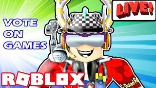 Roblox Live Steam - Game Mix, YOU VOTE! - Jailbreak Update, Deathrun, Minigames, Flood Escape, More