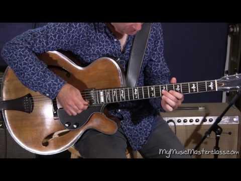 Peter Bernstein - Jazz Guitar Lesson 2