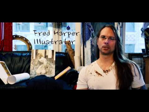 Fred Harper: Illustrator, Artist, and Friend
