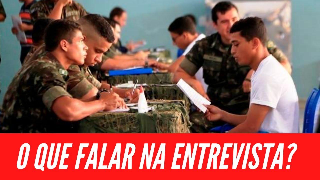 O que falar na entrevista da seleção complementar para aumentar suas chances de servir ao exército?