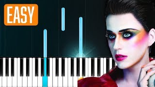 "Katy Perry - ""Hey Hey Hey"" 100% EASY PIANO TUTORIAL"