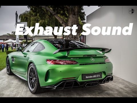 The Mercedes-Benz AMG GT-R Exhaust Sound