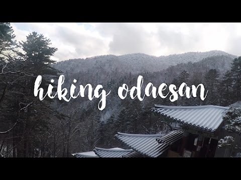HIKING ODAESAN (PYEONGCHANG, SOUTH KOREA)