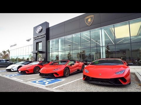 Driving the Huracán Performante Spyder - Last Drive Experience Event of the Year!