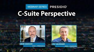 C-Suite Perspective Webinar Series: VMware