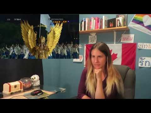 Reacting to Cuplikan Kemeriahan Opening Ceremony Asian Games 2018