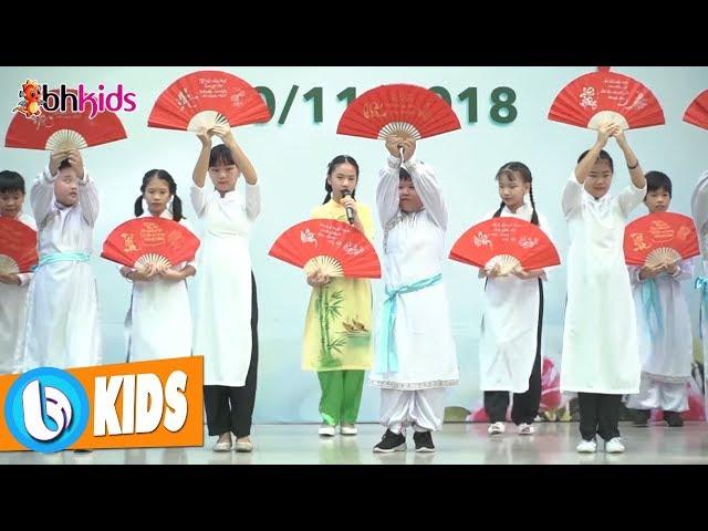 Thương Ca Tiếng Việt - Bé Quý Dương ♫ Hát Mùa Nhạc Thiếu Nhi