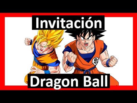 Video Invitación Dragon Ball Z Whatsapp Digital