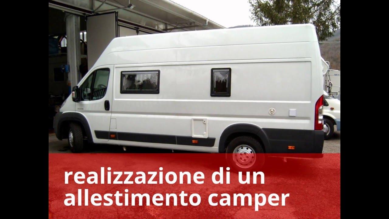 Allestimento furgone a camper youtube for Allestimenti per furgoni fai da te