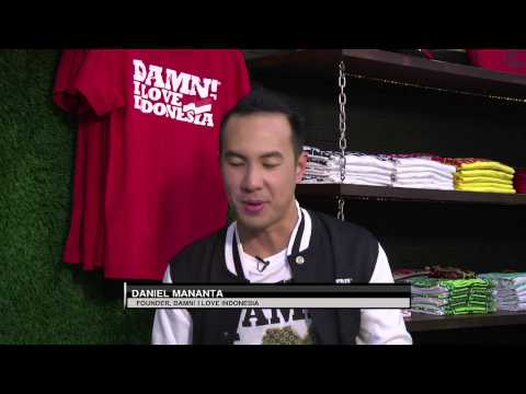 The Perspective: From Fashion to a Movement, Daniel Mananta on DAMN! I Love Indonesia  (Part 1 of 6)