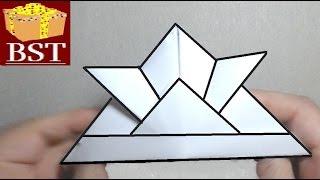 как сделать из оригами шлем