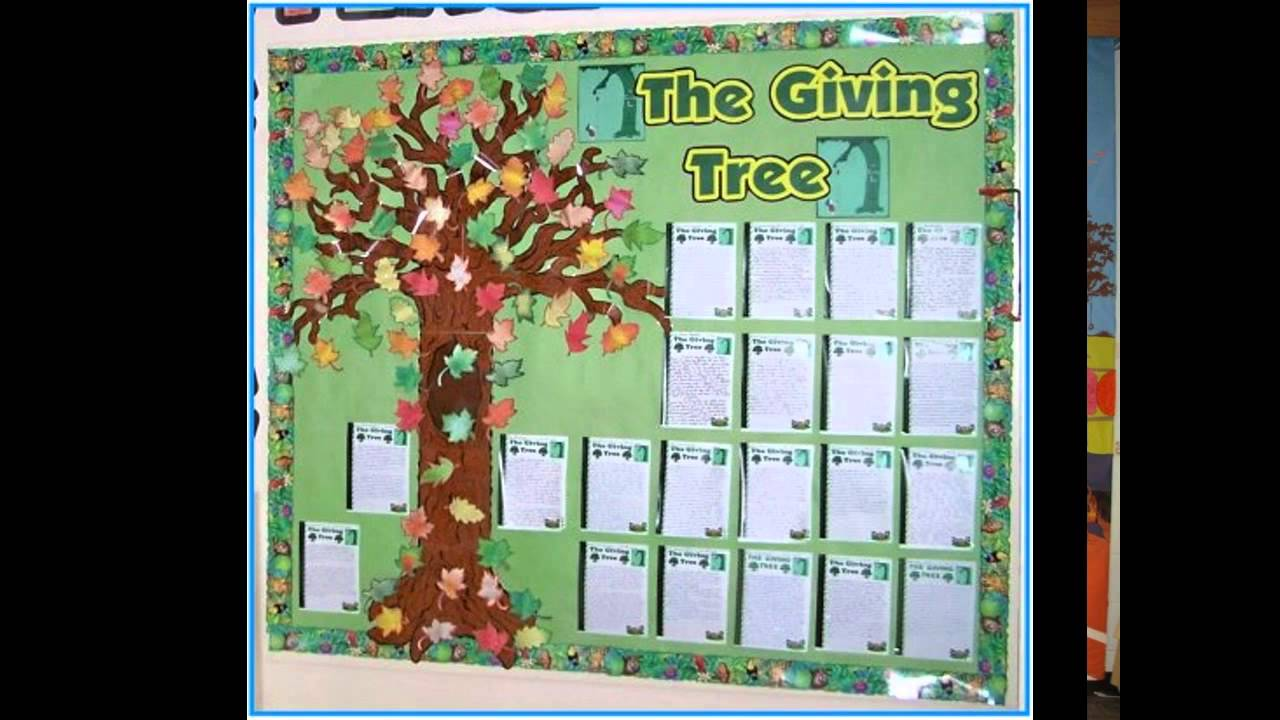 Innovative Ideas In English Classroom ~ Fall bulletin board ideas for teachers youtube