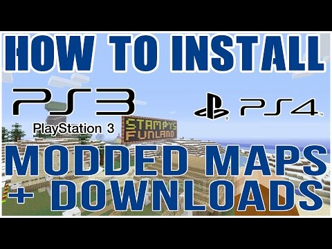 (PATCHED) How to Download Custom Maps and Mod on Minecraft PS3 + PS4 (PATCHED)