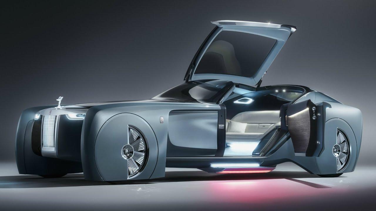 rolls-royce 103ex concept design - youtube