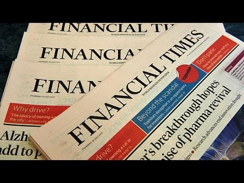 Nikkei Buys the Financial Times for $1.3 Billion