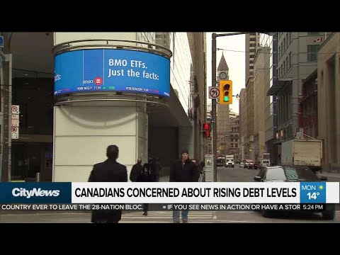 Business report: Canadians worried about rising debt levels