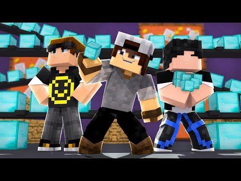 Minecraft: EGG WARS - FÁBRICA DE DIAMANTES!