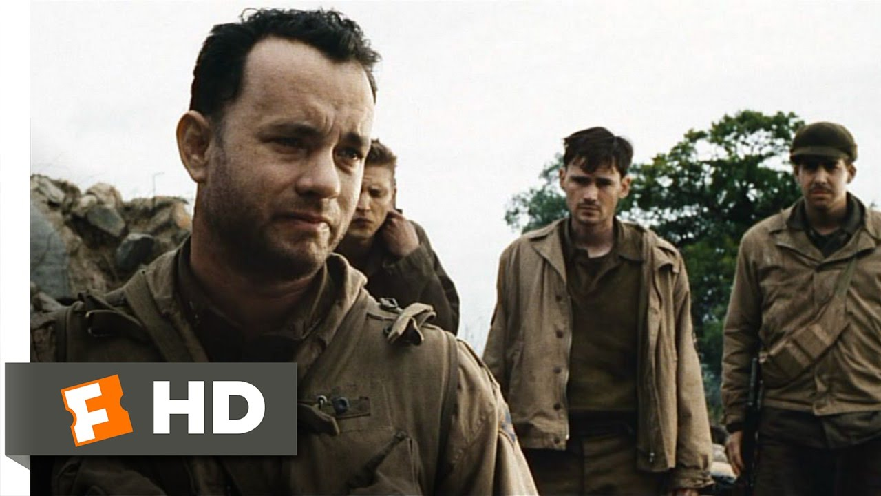 Saving Private Ryan  3  7  Movie Clip