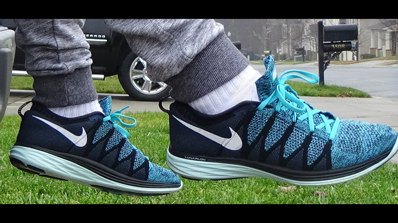 706f63a7fcebf Nike Flyknit Lunar 2 Review + On Foot - YouTube