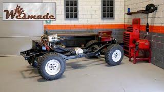 Grandaddy's Beach Jeep (1) - Teardown and Chassis Build
