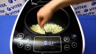 Рецепт приготовления постных вареников с картошкой и грибами в мультиварке VITEK VT-4209 BW