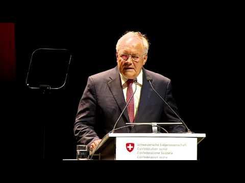 Speech Federal Council J. Schneider-Ammann