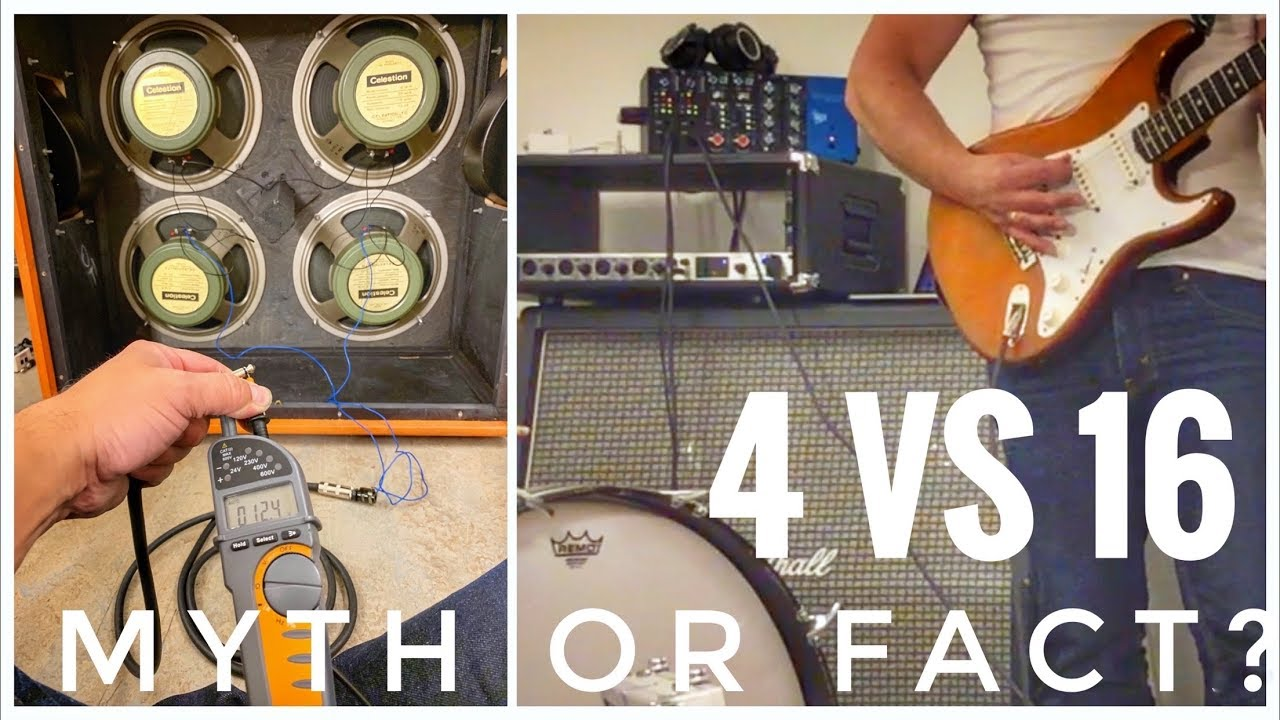 Download 4x12 Speaker Wiring Influences Tone - Myth or Fact? - Judge For Yourself!