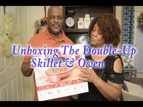 Unboxing| Double up Skillet & Oven