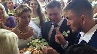 Свадьба Алексея и Ксении - хлеб да соль